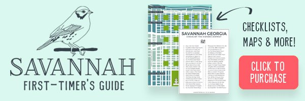 Opt-in salmon pink button to purchase the Savannah First-Timer's Guide